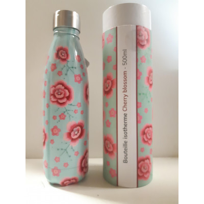 Bouteille isotherme Cherry Blossom-YOKO DESIGN