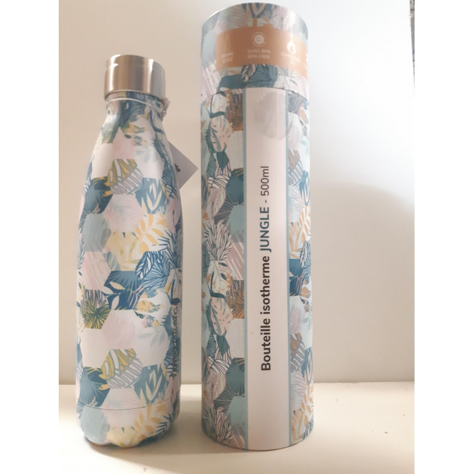 Bouteille isotherme Jungle-YOKO DESIGN
