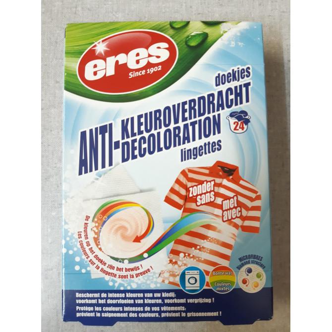 Anti-Décoloration lingettes-ERES
