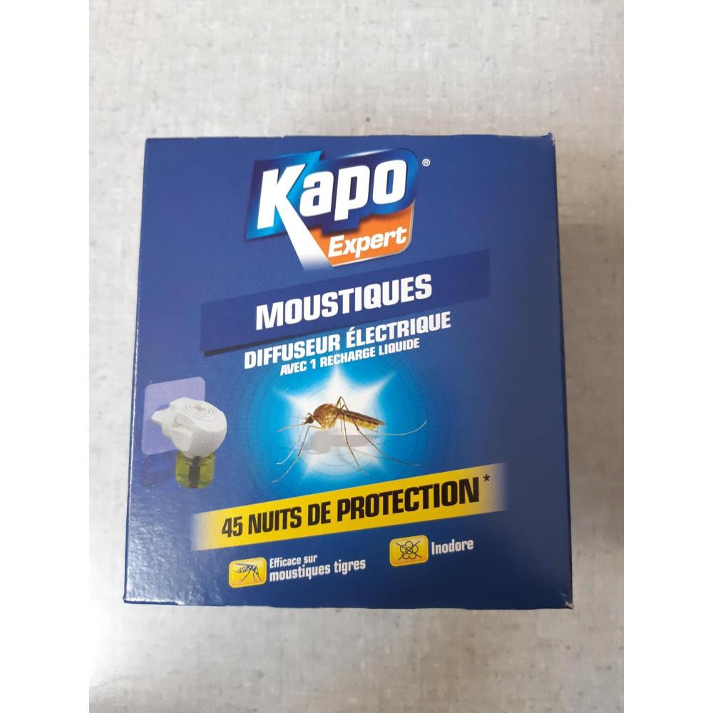 Diffuseur électrique avec 1 recharge liquide KAPO