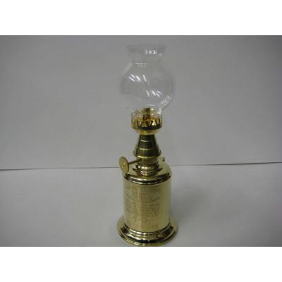Lampe à essence en laiton poli