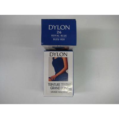 Teinture Tissu Dylon Bleu Roi