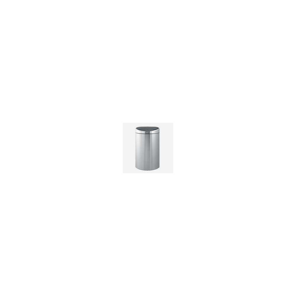 Poubelle Touch Bin 40 litres Inox Matt