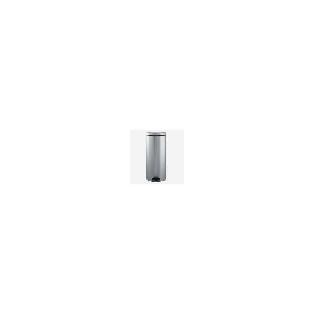 Poubelle à pédale 30 litres Inox Matt