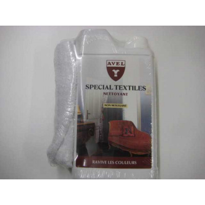 Nettoyant désinfectant bactéricide textiles AVEL - 500ml