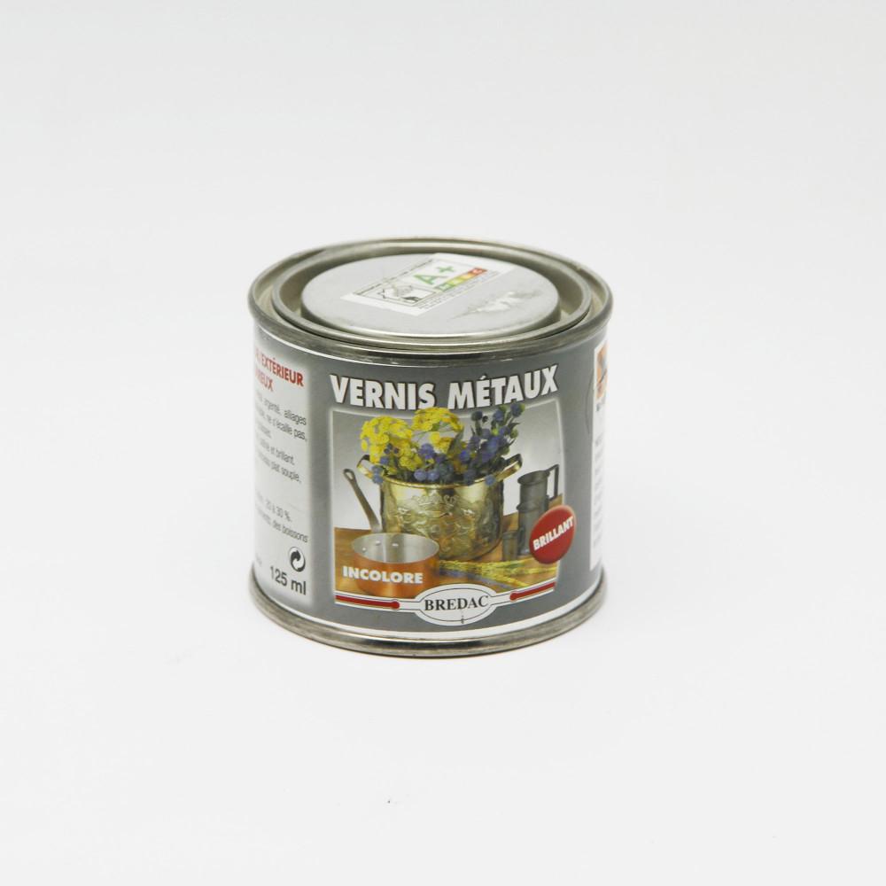 Vernis métaux incolore brillant - Bredac