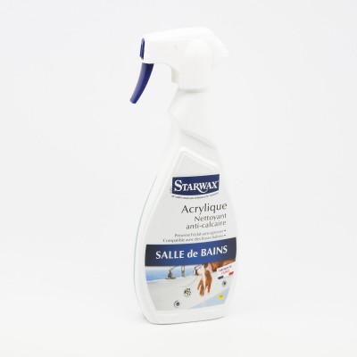 Acrylique Nettoyant calcaire Salle de bains - Starwax