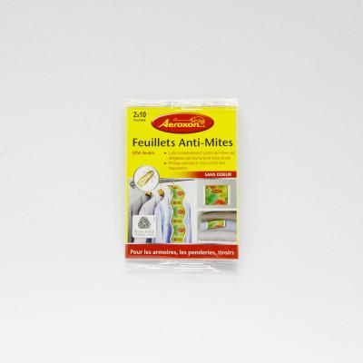 Feuillets Anti-Mites sans odeur - Aeroxon