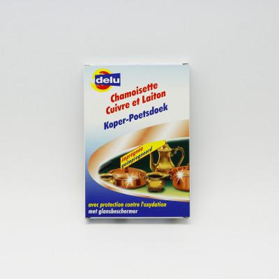 Chamoisette Cuivre et Laiton - Delu