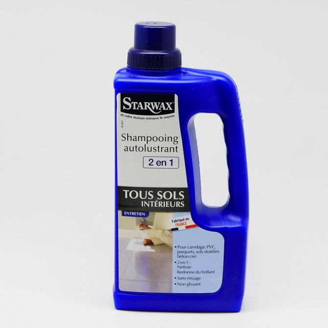 Shampooing autolustrant STARWAX 2 en 1 1Litre