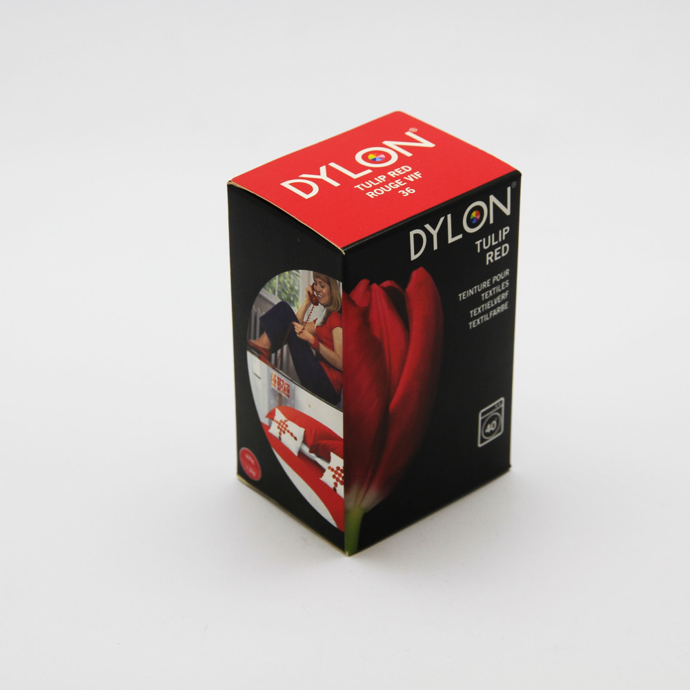 Teinture a vêtement et tissu Dylon Rouge Vif 36