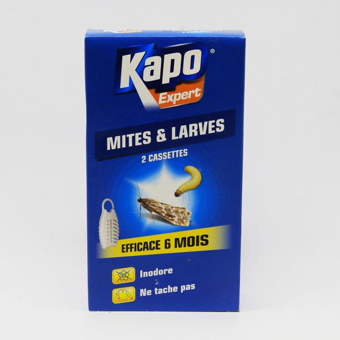 Cassettes anti-Mites et anti-larves KAPO pour textiles