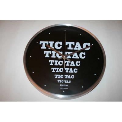 Horloge noire Tic Tac DLP