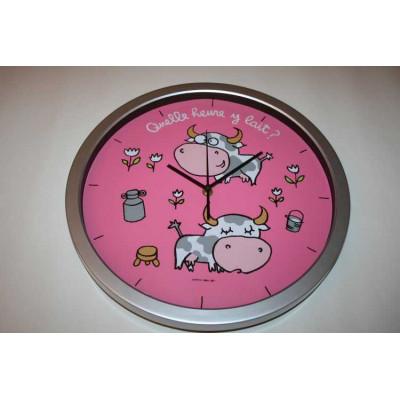 Horloge Quelle heure y lait DLP