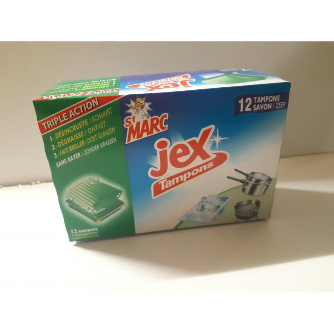 Tampon Jex Savon-12 pièces